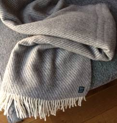 Uldtæppe – Norsk Uldplaid af 100% ren ny uld